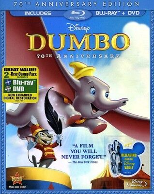 Dumbo [New Blu-ray] With DVD, Full Frame, Anniversary Edition, Dolby, Digital