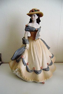 coalport age of elegance spanish serenade figure 21-cm tall 1993 (N3)
