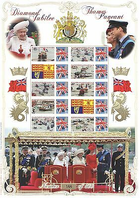 BC-383 2012 Diamond Jubilee Pageant History of Britain 88 Business Smilers Sheet