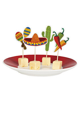 Mexican Fiesta Cocktail Party Picks Pk12