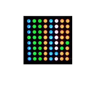 1PCS 5mm 8*8 8x8 Full Colour RGB LED Dot Matrix Display Module Common Anode S