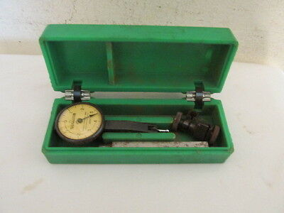 Vintage Federal Testmaster M-2 .0001 Original Case Usable Collectible Tools