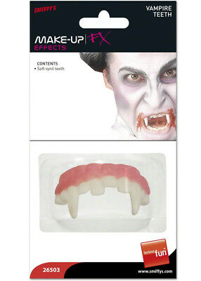 Kids Halloween Soft White Vampire Teeth