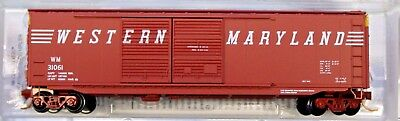 N Scale - MICRO-TRAINS LINE 034 00 400 WESTERN MARYLAND 50' Double Door Box Car