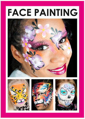 Grimas Face Painting Make-Up Book