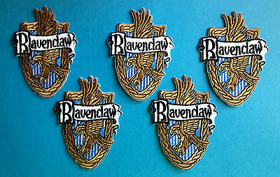 5 Lot Harry Potter Ravenclaw House Scarf Hat Jacket Hoodie Backpack Patches
