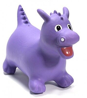 Happy Hopperz Dino - 12+ Months Larger Toddler, Purple