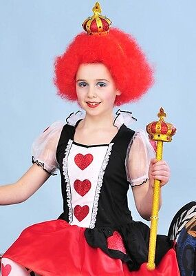 Kids Queen of Hearts Style Crown and Sceptre Kit