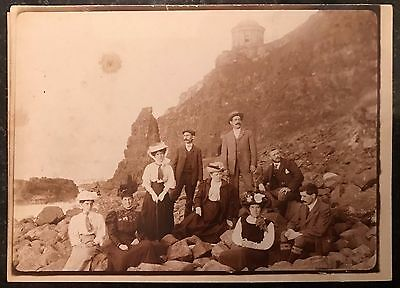 Downhill Mussenden Temple Early Photographs Portrush Londonderry Railways Trains