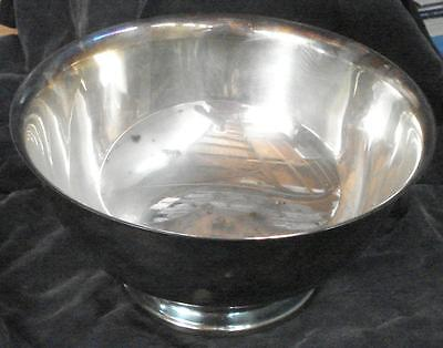 Vintage Webster Wilcox International Silverplate Footed Serving Bowl - GDC