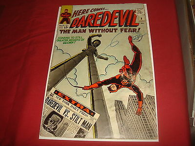 DAREDEVIL #8 Silver Age 1st Stilt-Man Marvel Comics 1965  VG