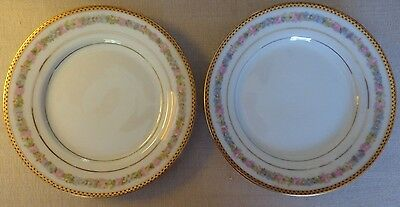 Mz China Kaiserin Maria Theresia Carlsbad Austria Set Of 2 Bread & Butter Plate