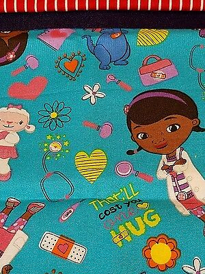 Embroidered Personalized STANDARD Pillowcase   Doc MacStuffin