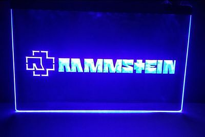 Rammstein beer bar pub 3d signs LED Neon sign man cave