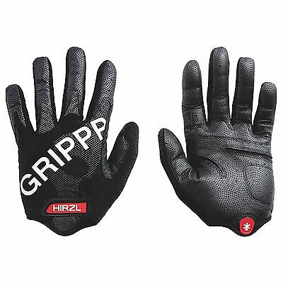 Hirzl Grippp Tour Road/Mountain/MTB Bike/Cycling/Cycle Gloves - Black - Small