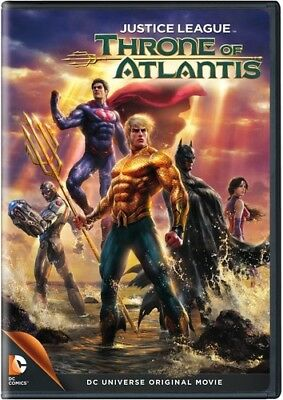 Justice League: Throne of Atlantis [New DVD] Full Frame, Dolby, Digital Theate