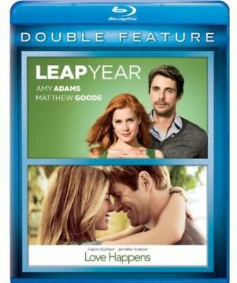 Leap Year / Love Happens [New Blu-ray] 2 Pack, Snap Case