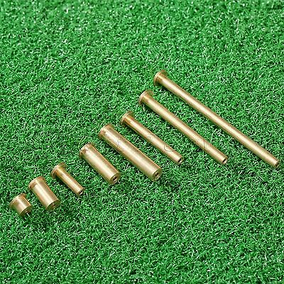 8pcs Copper 2-8g Golf Nail Plug Weight for .355 & .355 .370 Tip End Steel Shaft