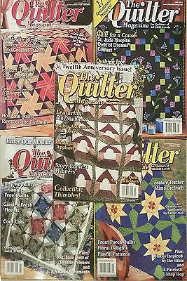 Lot of 5 The Quilter Magazines. Lot #6