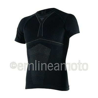 Shirt Thermal Moto Dainese D-Core Dry Tee SS Black / Anthracite XL/XXL