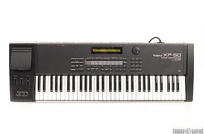 ROLAND XP-50 Music Workstation 61-Key Keyboard 64 Voice 4x Expansion MIDI #27148