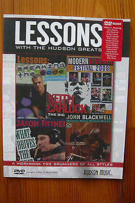 Lessons with the Hudson Greats Volume 1 - Mängelexemplar