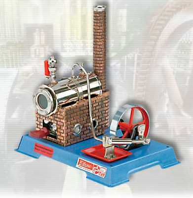 AU SPECIAL: Wilesco D6 TOY STEAM ENGINE - SEE VIDEO - NEW - MADE IN GERMANY