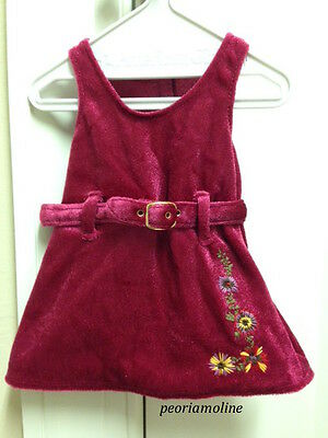 American Girl JULIE CHRISTMAS OUTFIT 1 PC Replacement DRESS ONLY NEW*