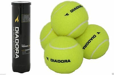 DIADORA®New Tennis Balls Pressurised Sealed Storage Tube for All Surface Quality