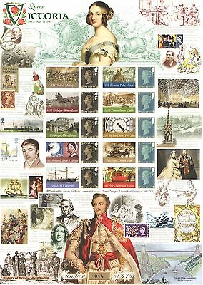 BC-457 2015 Queen Victoria 3 of 6 History of Britain 108 Business Smilers Sheet
