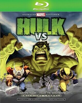 Hulk Vs. [New Blu-ray] Ac-3/Dolby Digital, Dolby, Digital Theater System, Dubb