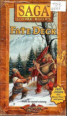 TSR 9565 : Saga Game Rules : Fate Deck - Mint - Factory Sealed 1996/1997