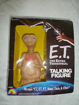 Vintage E.t The Extra Terrestrial Talking Figure