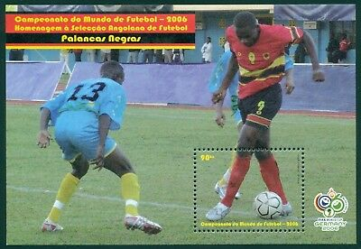 Angola Scott #1297 MNH World Cup 2006 Germany Soccer Football CV$4+