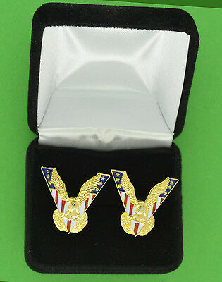 America Victory Eagle Cufflinks --  Political - USA - Make Great - American