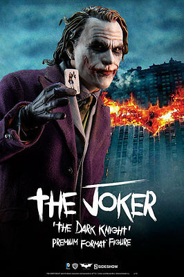 The Joker The Dark Knight Premium Format Figure Sideshow Collectibles