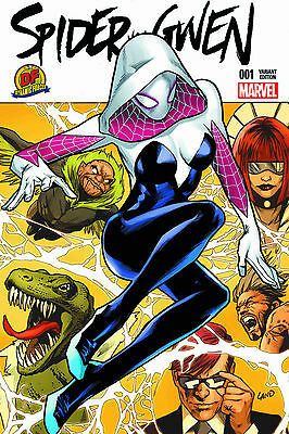 Spider-Gwen Volume 2 #1 Dynamic Forces Exclusive Greg Land Cover Marvel Comics