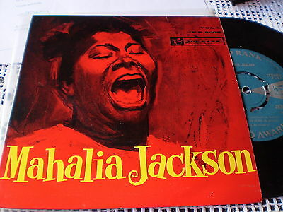 Mahalia Jackson - Self Titled - Top Rank Ep - Gospel