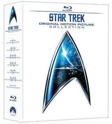 Star Trek: The Original Motion Picture Collection [New Blu-ray] Boxed Set, Dub