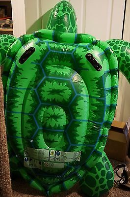 Intex Sea Turtle 75'' x 67'' Ages 3+ New pool float baby kids outdoor party