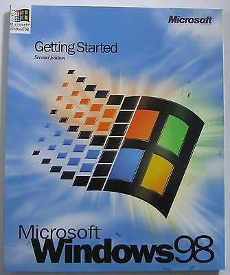 Microsoft Windows 98 Getting Started Second Edition Manual Only