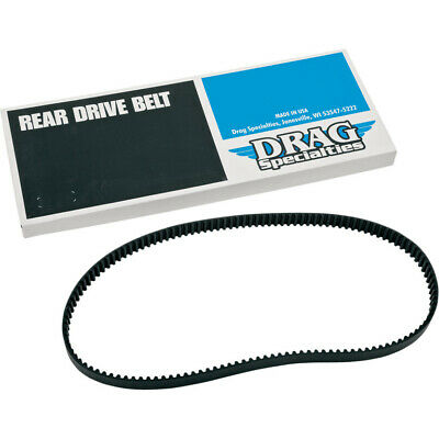 "Drag 1-1/8"" 136 Tooth Final Rear Drive Pulley Belt Harley Sportster XL 883 04-06"