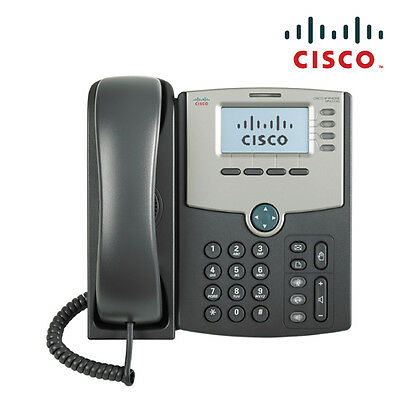 NEW  Cisco Spa514g 4 Line Ip Phone With Display, Poe And Gigabit Pc Port