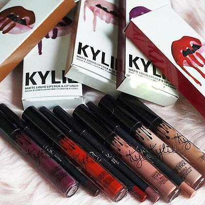 Kylie Jenner Lip Kit Lip Gloss opaco liquido Rossetto strumento trucco cosmetiAH