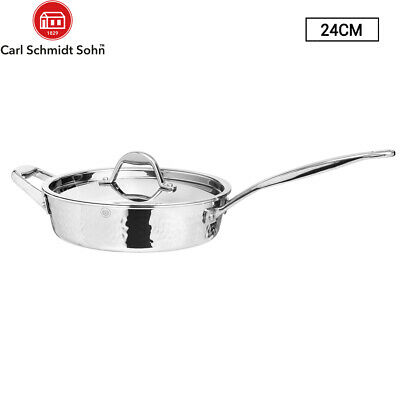 4L Hawkins Stainless Steel Pressure Cooker - 4 Litres Lid Cookware Induction