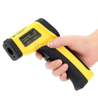 1050°C Infrared Thermometer Digital Pyrometer IR Non Contact Temperature Laser