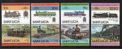 Saint Lucia MNH 1985 Leaders of the World