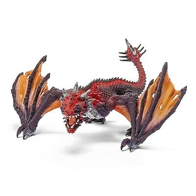 Schleich Dragon Fighter, Mythical Creature Fantasy Figure, Toy Model