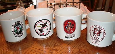Vintage Section 4  Conclave Mugs, Order of the Arrow (4 Mugs)