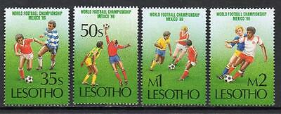 Lesotho MNH 1986 Football World Cup